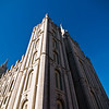 Title: Temple of the Lord<br /> Date: November 2011<br /> Salt Lake City - The Salt Lake Temple, the largest Mormon church in the world.