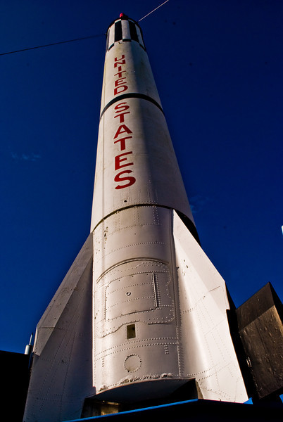 Title: Mercury-Redstone<br /> Date: October 2008<br /> Cape Canaveral FL - A Mercury-Redstone rocket at Kennedy Space Center.