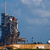 Title: So Close...<br /> Date: October 2008<br /> Cape Canaveral FL - Another one of the Space Shuttles sits on a launch pad at the Kennedy Space Center.