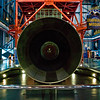 Title: Business End<br /> Date: October 2008<br /> Cape Canaveral FL - The rocket cone of the Command Module of the Saturn V Rocket.