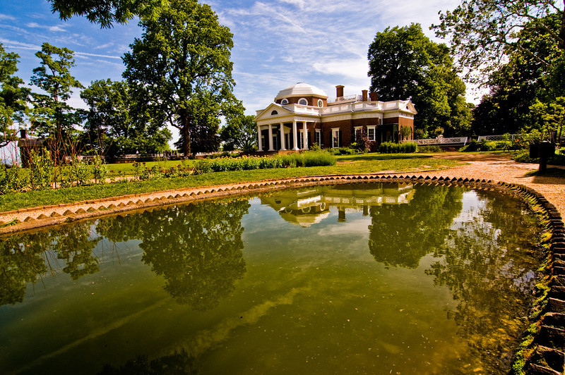 Title: Enjoy the View<br /> Date: May 2009<br /> Monticello VA - Thomas Jefferson's mansion at Monticello.
