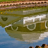 Title: Domed Reflection<br /> Date: May 2009<br /> Monticello VA - Reflection of Thomas Jefferson's mansion at Monticello.