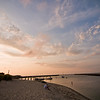 Title: Sunset Thinking<br /> Date: August 2011<br /> Cape Cod MA - Sunset over Sesuit Harbor in Dennis MA.