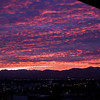 Title: Purple Sunset<br /> Date: November 2011<br /> Salt Lake City - A purple sunset over Salt Lake City.