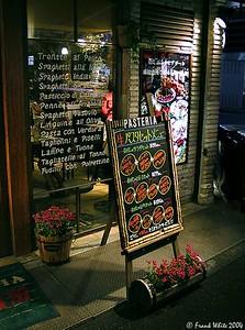 Italian restaurant, Tokyo, Japan, 2001.