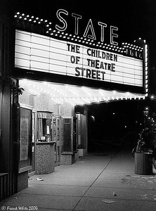 The old State Theater in Newark DE about 1979