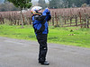 Jen takin' a piccy @ Kunde Vineyard Sonoma Valley