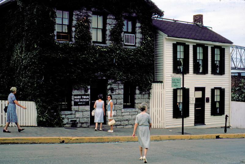 1965-07 - Hannibal MO - Mark Twain house