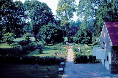 1965-08 - Old Kentucky Home garden