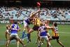 Eagles/Hawks game at the MCG. Melbourne, Victoria.