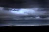 A wind farm on the horizon on the way from Perth to Kalbarri.  Western Australia.