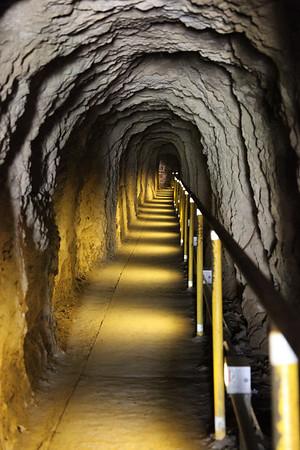 tunnel at Diamond Head Crater in Honolulu,Hawaii
