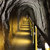 tunnel at Diamond Head Crater in Honolulu,Hawaii