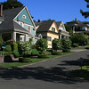 residential street in Seattle