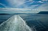 Victoria to Vancouver British Columbia Ferry wake