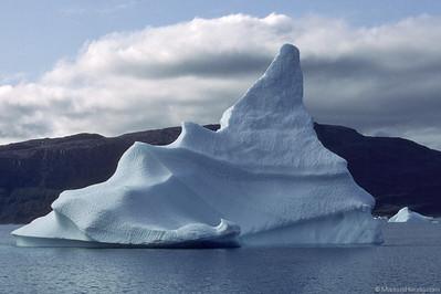 Large iceberg @ Eriksfjord Greenland 25Aug82