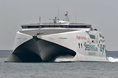 Ferry SPEED ONE Speedferries @ Boulogne France 26Jul06