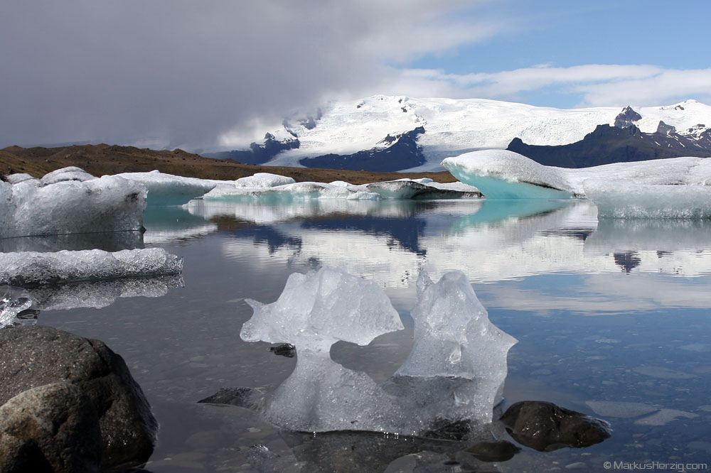 Glacier lake Jökulsárlón @ Iceland 24Jul09