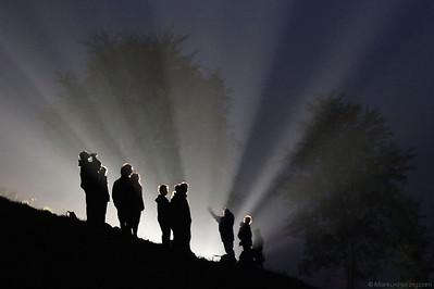 Rally action at night @ Revival Rallye Valpantena Italy 19Oct12