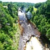 Ausable Chasm, New York.