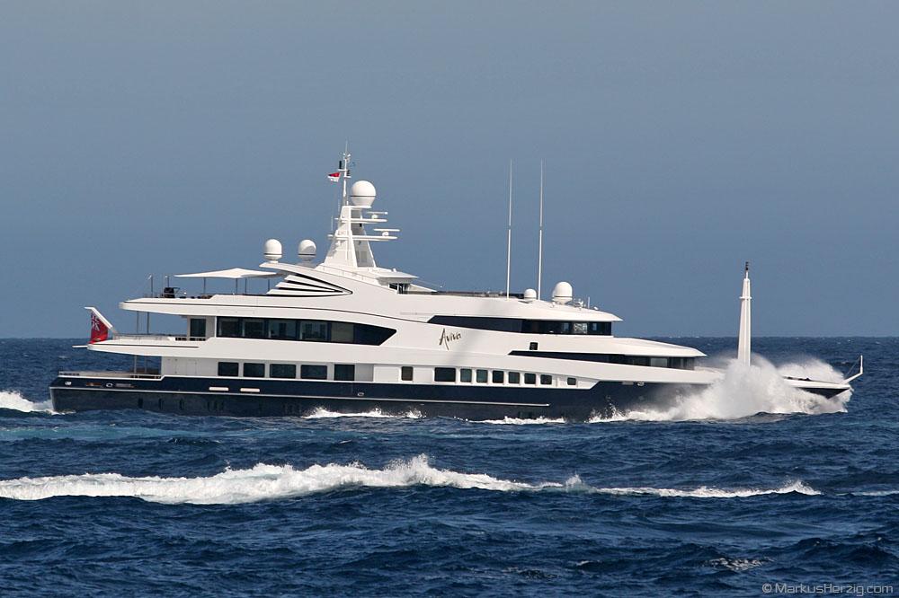 Yacht AVIVA II @ Monaco 27May07