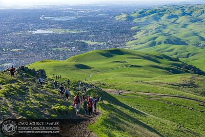 Hiking Mission Peak Regional Preserve - Fremont, CA