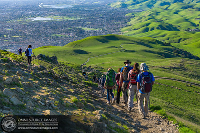 Hiking Mission Peak Regional Preserve - Fremont, CA