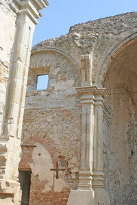 6/30/10 Ruins of the Great Stone Church, destroyed by an earthquake on December 8, 1812.