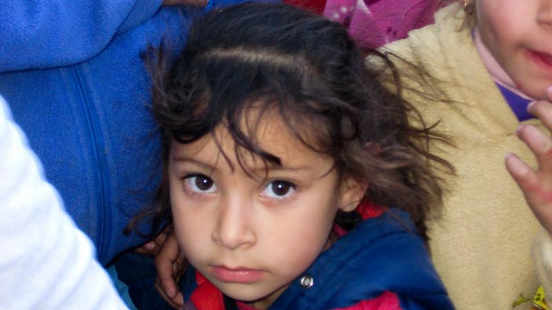 Little Girl Waiting for Toys