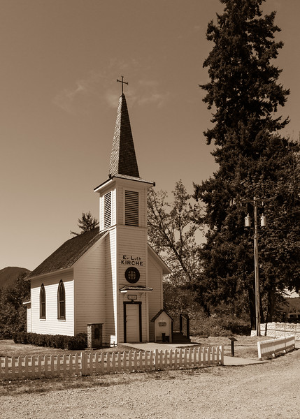 The Church in Elbe Washington