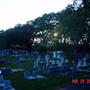 Sunset at City Cemetery