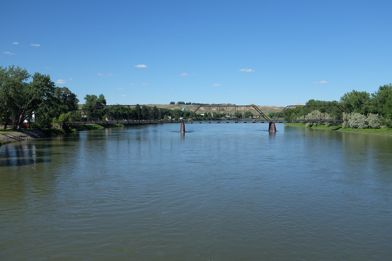 "Fort Benton, Montana, located 2,100 river miles upstream of St Louis, Missouri, and 3,460 miles from the Gulf of Mexico, was once the ""innermost"" seaport in the world."