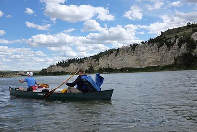 Missouri River Breaks Canoe Trip