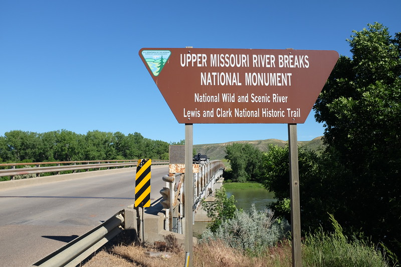 Welcome to the Upper Missouri River Breaks National Monument - gateway to the land of Lewis & Clark