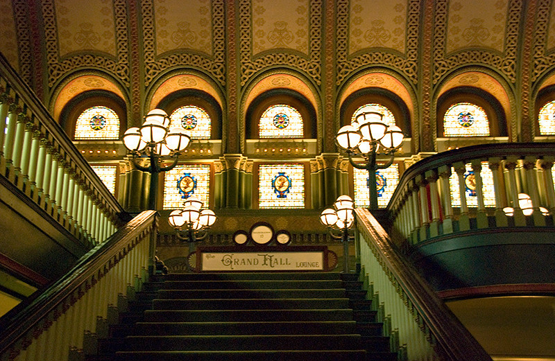 Staircase in St. Louis Union Station
