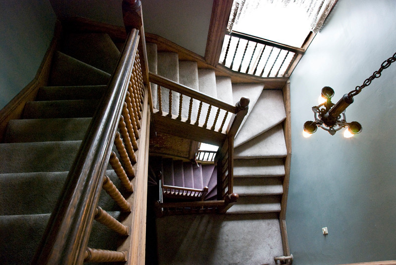 Lemp Mansion staircase