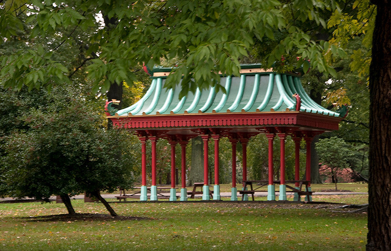 Japanese Gazebo, St. Louis, MO