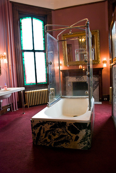 Ladies Bathroom in Lemp Mansion