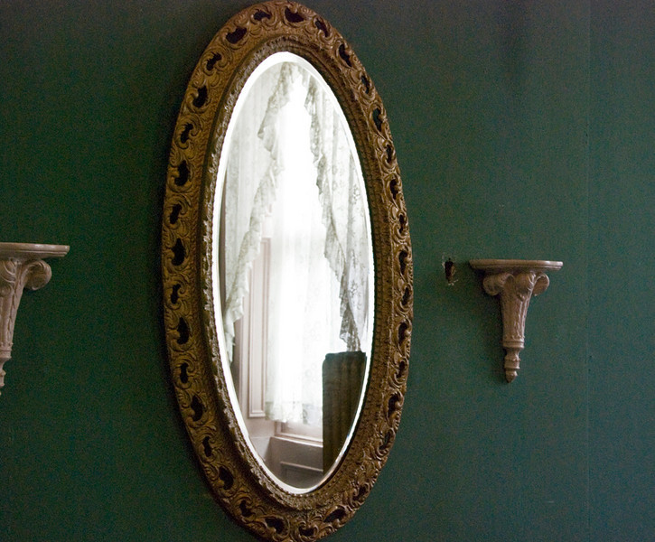 Ghost in the mirror, Lemp Mansion, St. Louis, MO