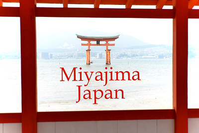 """Itsukushima Shrine (Japanese: 厳島神社 Itsukushima-jinja) is a Shinto shrine on the island of Itsukushima (popularly known as Miyajima), best known for its """"floating"""" torii gate. It is in the city of Hatsukaichi in Hiroshima Prefecture in Japan. The shrine complex is listed as a UNESCO World Heritage Site, and the Japanese government has designated several buildings and possessions as National Treasures.  Itsukushima jinja was the chief Shinto shrine (ichinomiya) of Aki Province. The shrine has been destroyed many times, but the first shrine buildings were probably erected in the 6th century. The present shrine dates from the mid-16th century, and is believed to follow an earlier design from the 12th century.That design was established in 1168, when funds were provided by the warlord Taira no Kiyomori. Miyajima (宮島町) is a town located on the island of Itsukushima in Saeki District, Hiroshima Prefecture, Japan."""