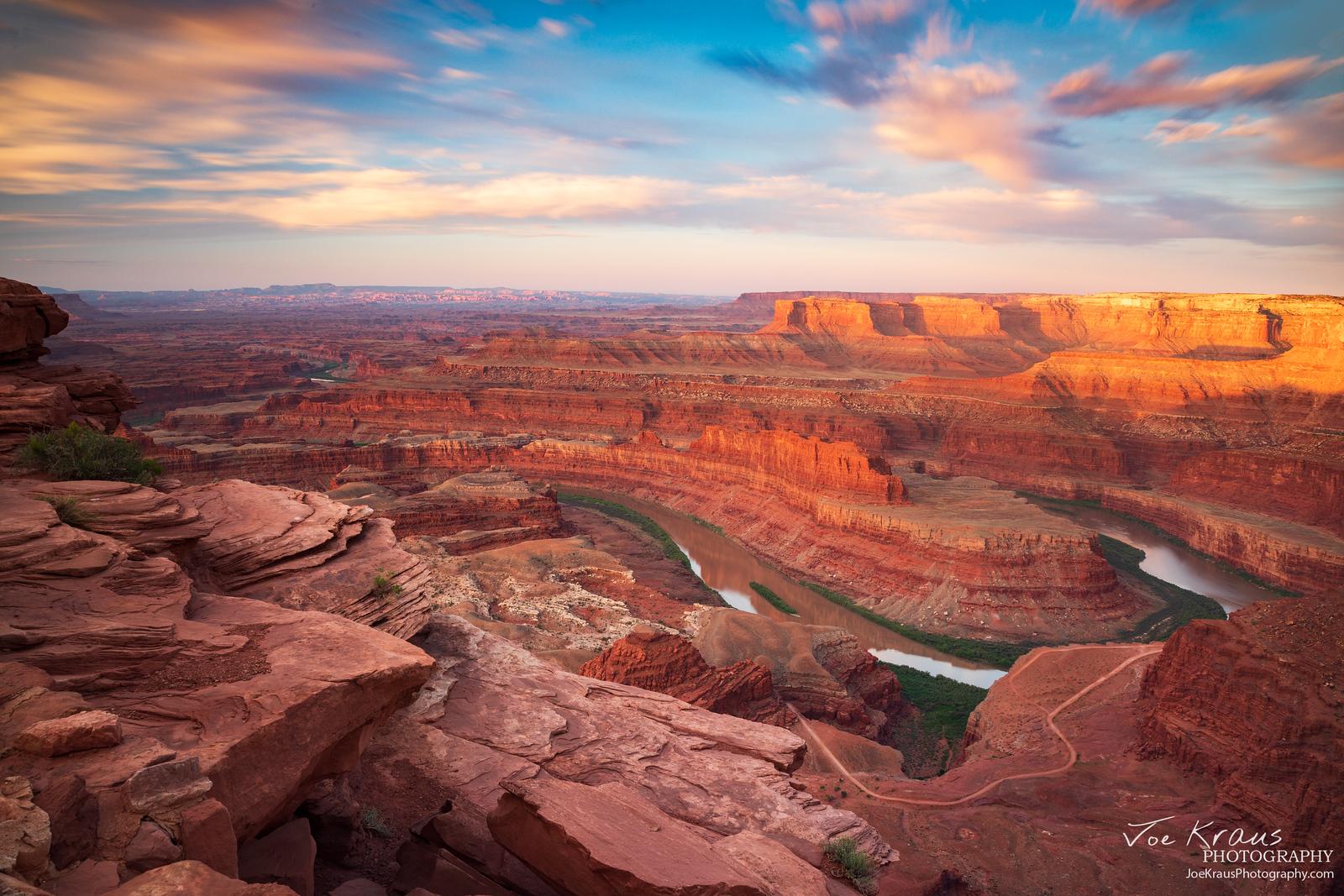 Sunrise over the Colorado