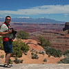 Becky & Shaun @ Overlook on the way to Canyonlands NP