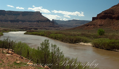 On the way to Moab