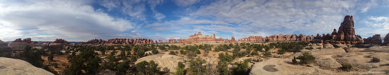 Chesler Park of Canyonlands National Park, Needles District. This area is rich with history from early native people to cowboys and outlaws, and still hosts visitors of many backgrounds, now as part of the National Park Service.