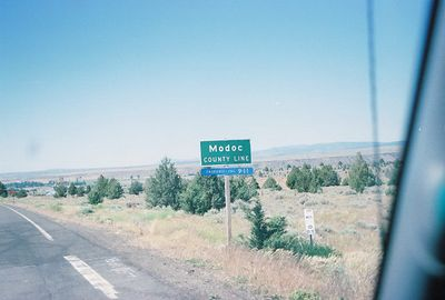 7/2/05 Modoc County Line (northbound on Hwy 395 from Lassen County)