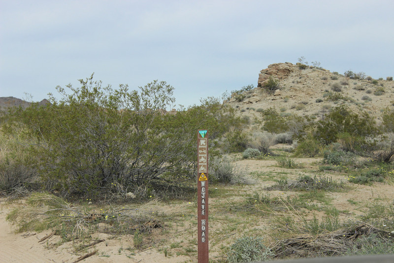 Blm route marker, many of these would be hard to find.