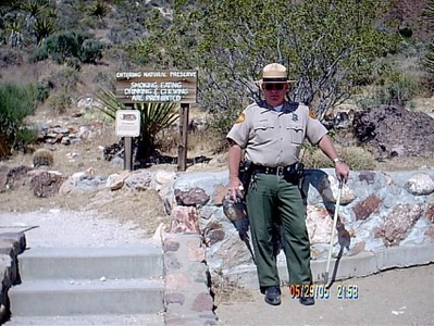 State Park Ranger <br /> This is the beginning of the tour