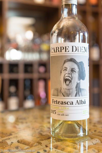 Carpe Diem wine in Moldova