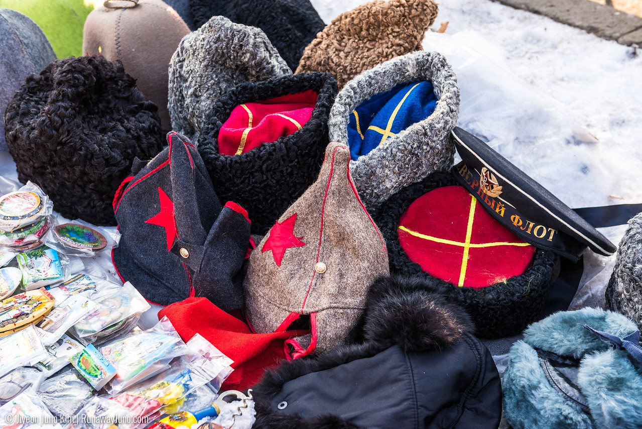 Soviet era souvenir from Souvenir Market in Chisinau