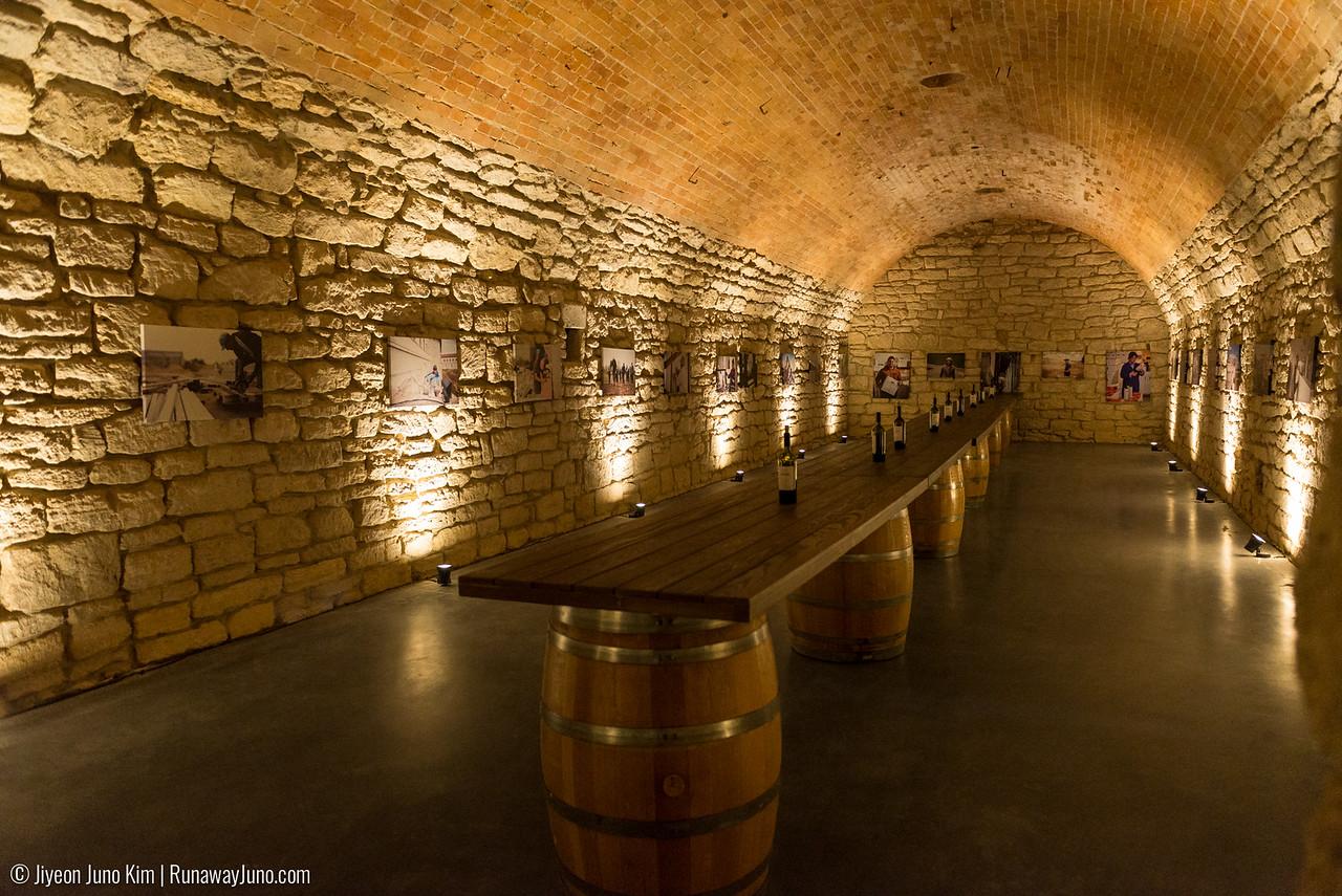 Wine tasting room at Castle Mimi Winery